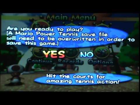 Gamecube Daily -  Mario Power Tennis(1/2)