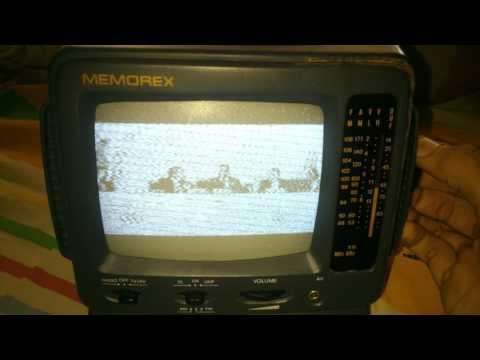 Memorex MT0500 Vintage Portable TV AM/FM Radio