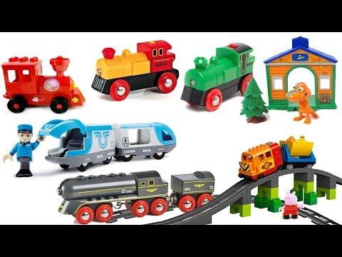 Мультфильмы про поезда и паровозики. Сборник, все серии подряд
