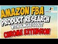 Amazon FBA Product Research Step by Step Tutorial for Beginners | Jungle Scout Chrome Extension 2.0