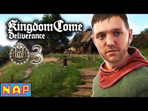 RIDE LIKE THE WIND! - Kingdom Come: Deliverance Gameplay - Let's Play Part 3
