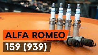 Kako zamenjati vžigalne svečke na ALFA ROMEO 159 1 (939) [VODIČ AUTODOC]