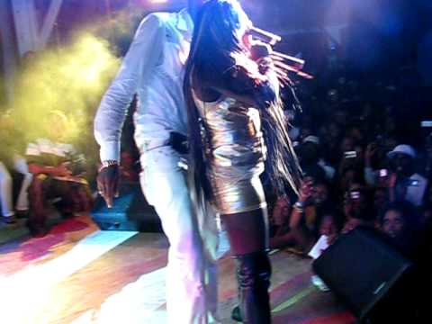 Vybz Kartel, Raging Fyah and Spice in Antigua sting 09