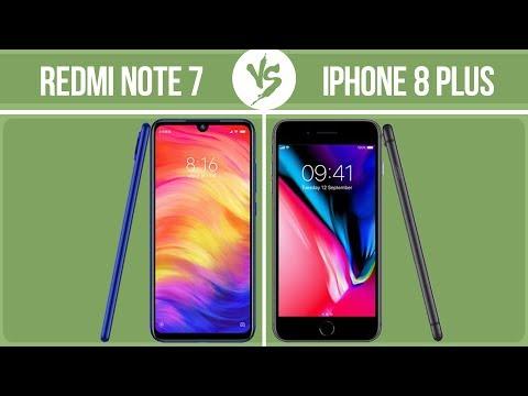 Xiaomi Redmi Note 7 Vs Apple IPhone 8 Plus ✔️