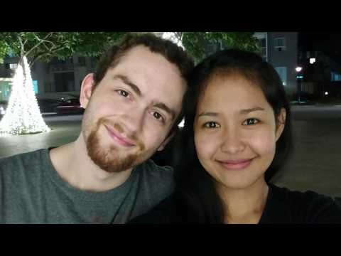 FILIPINA & AMERICAN MEETING FOR THE FIRST TIME - LONG DISTANCE RELATIONSHIP (LDR)