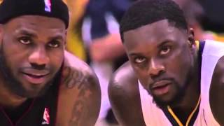Lance Stephenson Blows in the Ear of LeBron James Heat vs Pacers Game 5 NBA Playoffs 2014