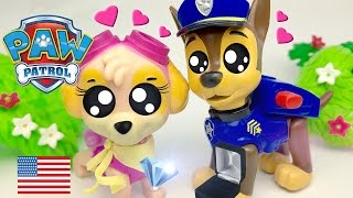 Chase Proposes to Skye Paw Patrol Gets Engaged Wedding is on the Way
