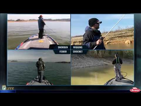Bassmaster Live: 2017 Cherokee Lake Friday, part 2