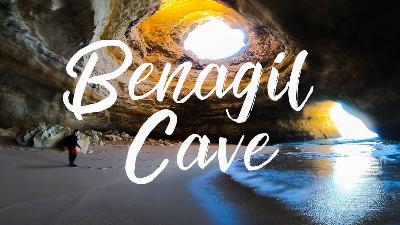Swimming to Benagil Cave   Algar Seco Cliff Jumps