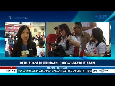 Garda Relawan Jokowi Deklarasikan Dukungan untuk Jokowi-Ma'ruf Mp3