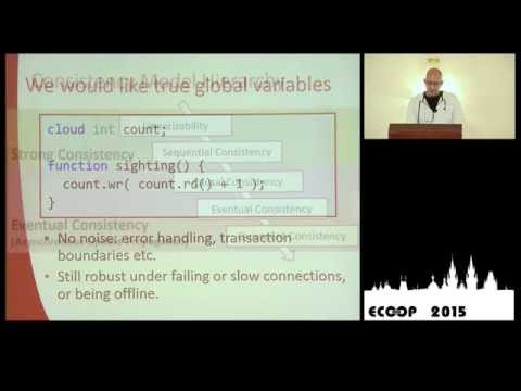 Daan Leijen - Global Sequence Protocol: A Robust Abstraction for Replicated Shared State