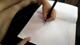 Sedang menggambar kucing lagu terstrom