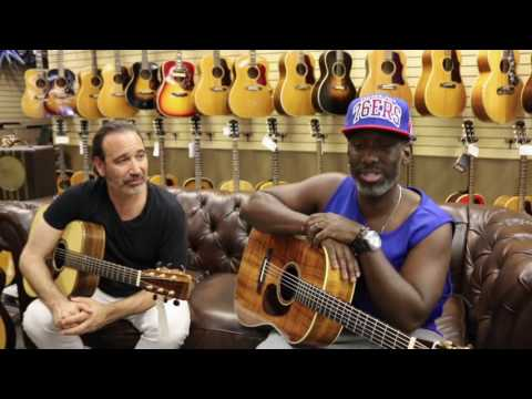 Shawn Stockman from Boyz II Men & Jason Sinay playing
