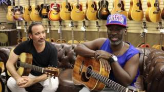 "Shawn Stockman from Boyz II Men & Jason Sinay playing ""Water Runs Dry"""