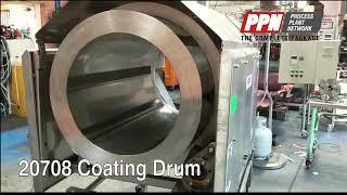 Heat & Control Coating or Seasoning Drum CFD [20708]