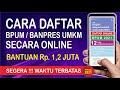 CARA DAFTAR UMKM 2021 ONLINE