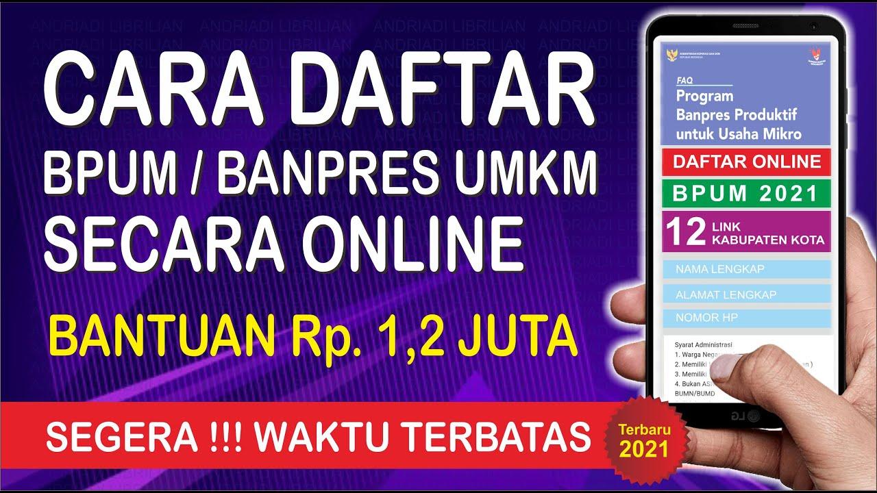 Download CARA DAFTAR UMKM 2021 ONLINE