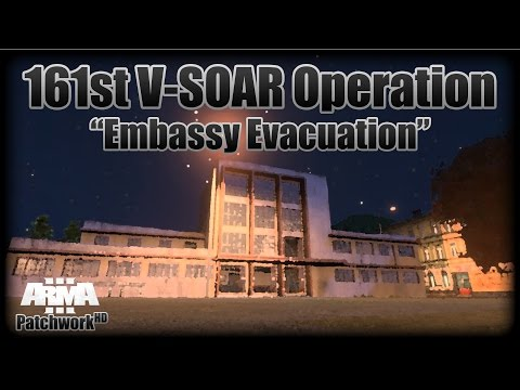"""Embassy Evacuation (Dual Perspective)"" - 161st V-SOAR Operation"