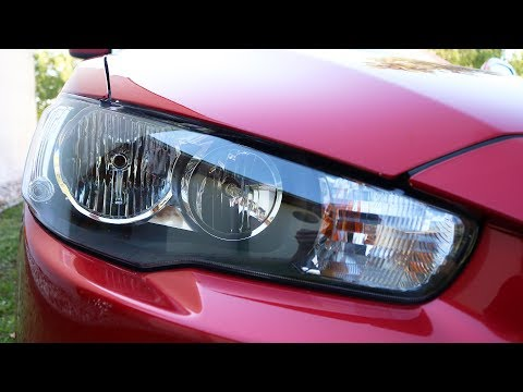 Mitsubishi Lancer – Front Right Lights Replacement