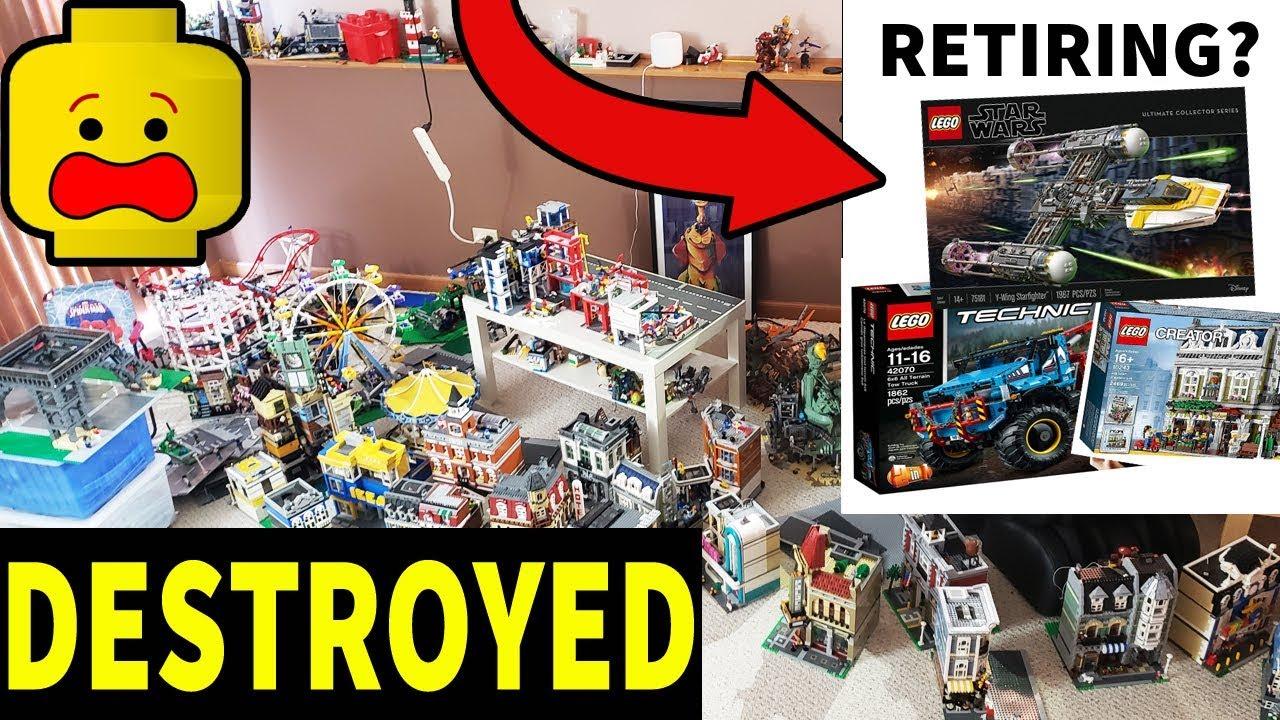 My Lego City DESTROYED! | Lego Sets Retiring Soon