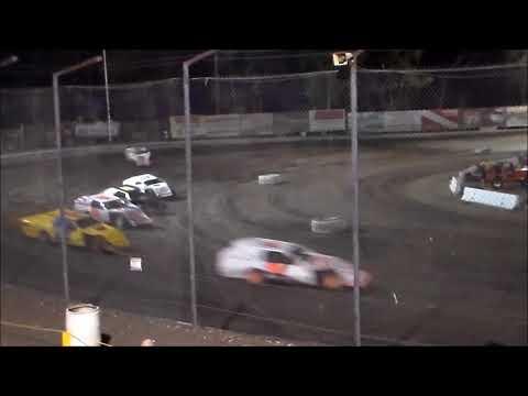 IMCA Modifieds Heat 2 - Bakersfield Speedway 9.16.17