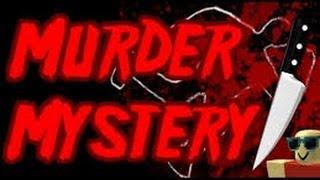 ROBLOX-GAMEPLAY Murder Mystery2 VIP playing with MCBros283 and PedBGaming AWESOME