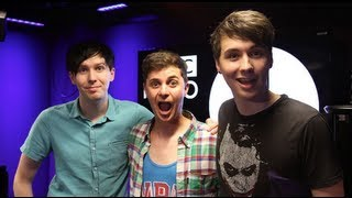 Watsky - Dan and Phil EXTENDED Interview!