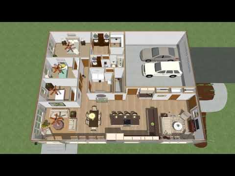 Custom Ranch Plan - Wausau Homes North Aurora, IL - Sanderson Residence
