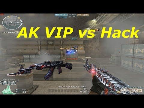 [ Bình Luận CF ] AK-VIP liên hoàn cận chiến - Tiền Zombie v4