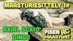 Pisen maasturiesittely jakso 1#  Axial SCX10 Dingo ja ajelua piharadalla.