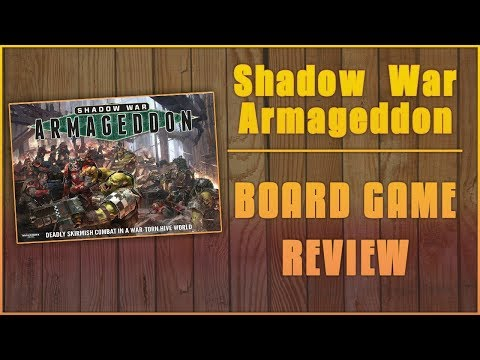 Major Sven Reviews Shadow War Armageddon