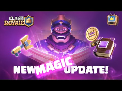 NEW UPDATE ✨ MAGIC ITEMS ✨ Coming soon... (Clash Royale TV Royale)
