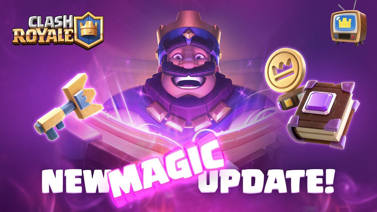 NEW UPDATE ✨ MAGIC ITEMS ✨ OUT NOW (Clash Royale TV Royale)