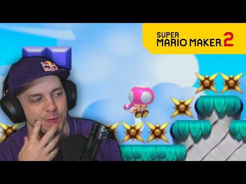 ALWAYS take the safest path | No Skip 1,000 Expert Levels PART 36 Super Mario Maker 2