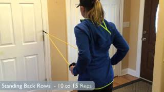 Using Resistance Bands With Door Anchor - Best Exercises