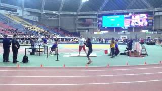 morgan indoor mvc championships runner up throw 14 60m