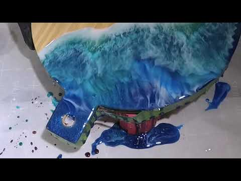 Cleaning up the edges on your Resin Art pieces