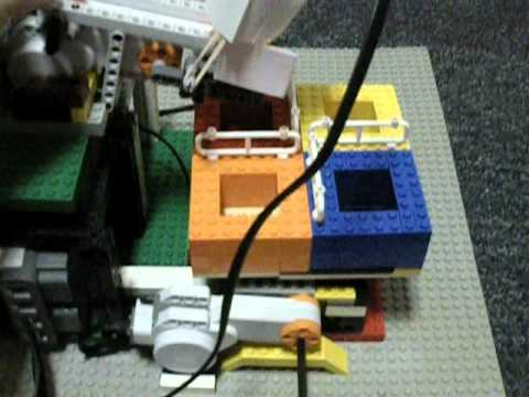 Lego Mindstorms Nxt Card Sorting Robot Beta