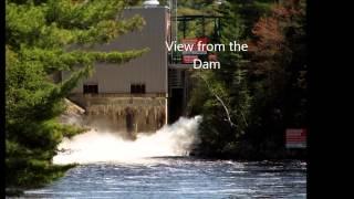 Muskoka Falls Power Dam...Bracebridge Ontario