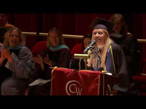Student Speaker: Christina Ram...