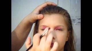 Maquillaje Halloween: Campanita/ Tinkerbell.