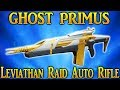 Destiny 2 Ghost Primus Leviathan Raid Auto Rifle Review Best Looking Weapon In The Game mp3