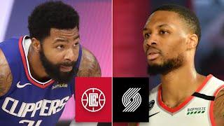 LA Clippers vs. Portland Trail Blazers   2019-20 NBA Highlights