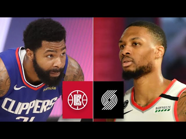 LA Clippers vs. Portland Trail Blazers | 2019-20 NBA Highlights