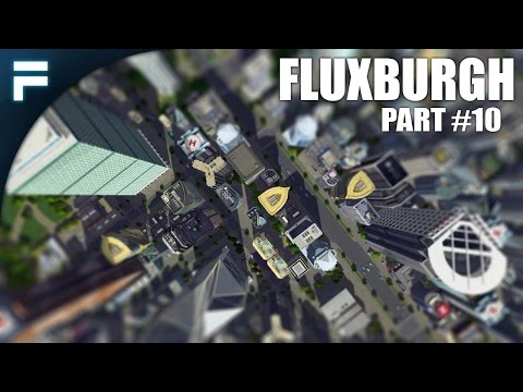 "Cities Skylines - Fluxburgh [PART 10] ""Trains & Metros"""