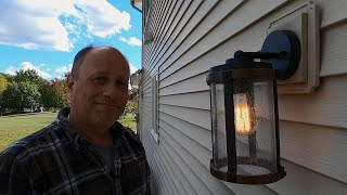 How to Install an Outdoor Light Fixture - The Right Way