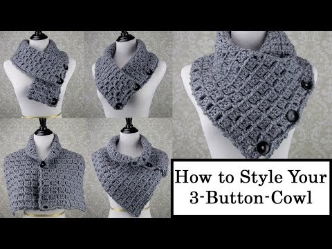 How to Style Your 3-Button-Cowl