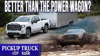 SHOTS FIRED! 2020 GMC Sierra AT4 Review Taking on Ram Power Wagon