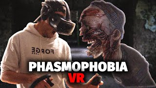 I Played Phasmophobia in VR And It Was A Nightmare