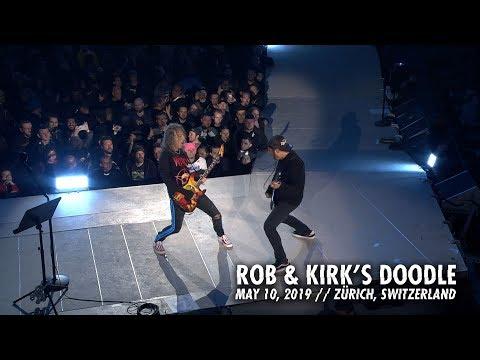 Metallica: Rob & Kirk's Doodle (Zürich, Switzerland - May 10, 2019)